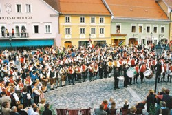 Blasmusikertreffen in Friesach